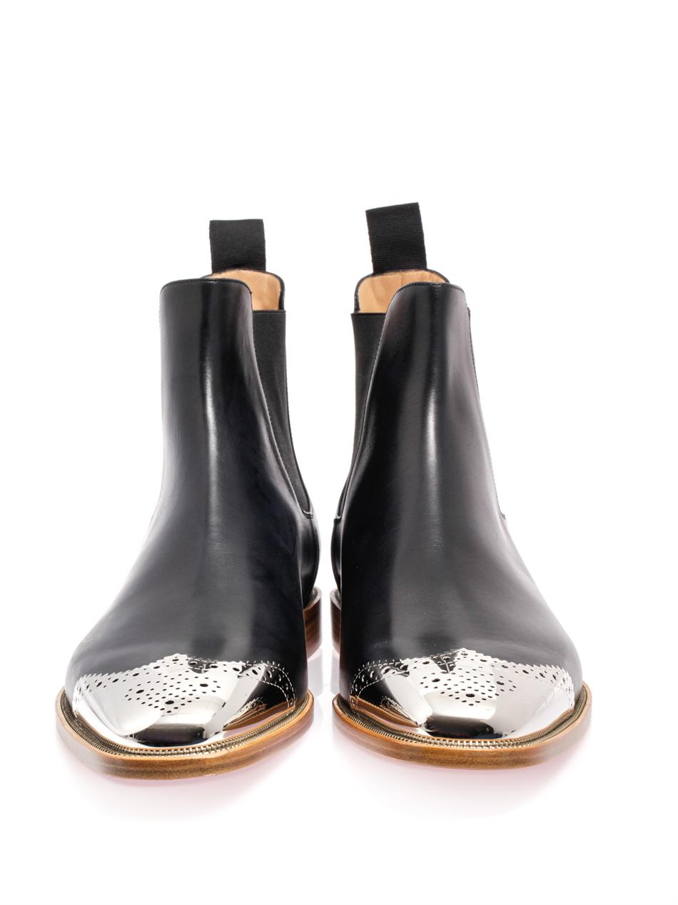 9a2aaf8ad7b italy christian louboutin black suede boots mens eff7d 52647
