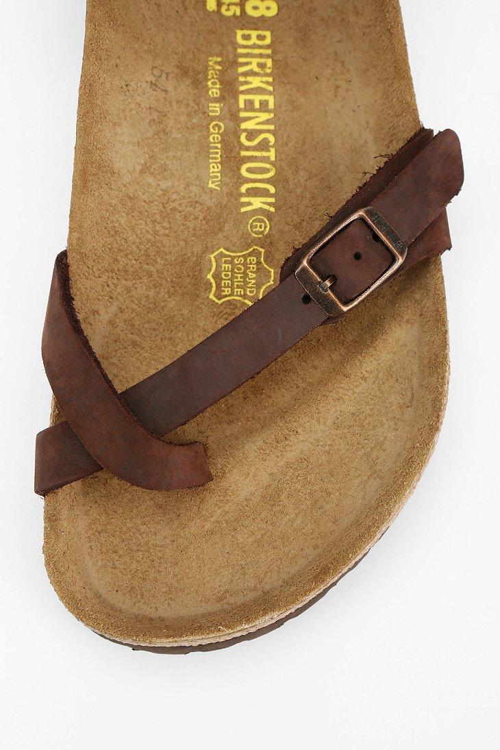 Birkenstock Yara Anklewrap Sandal In Brown Lyst