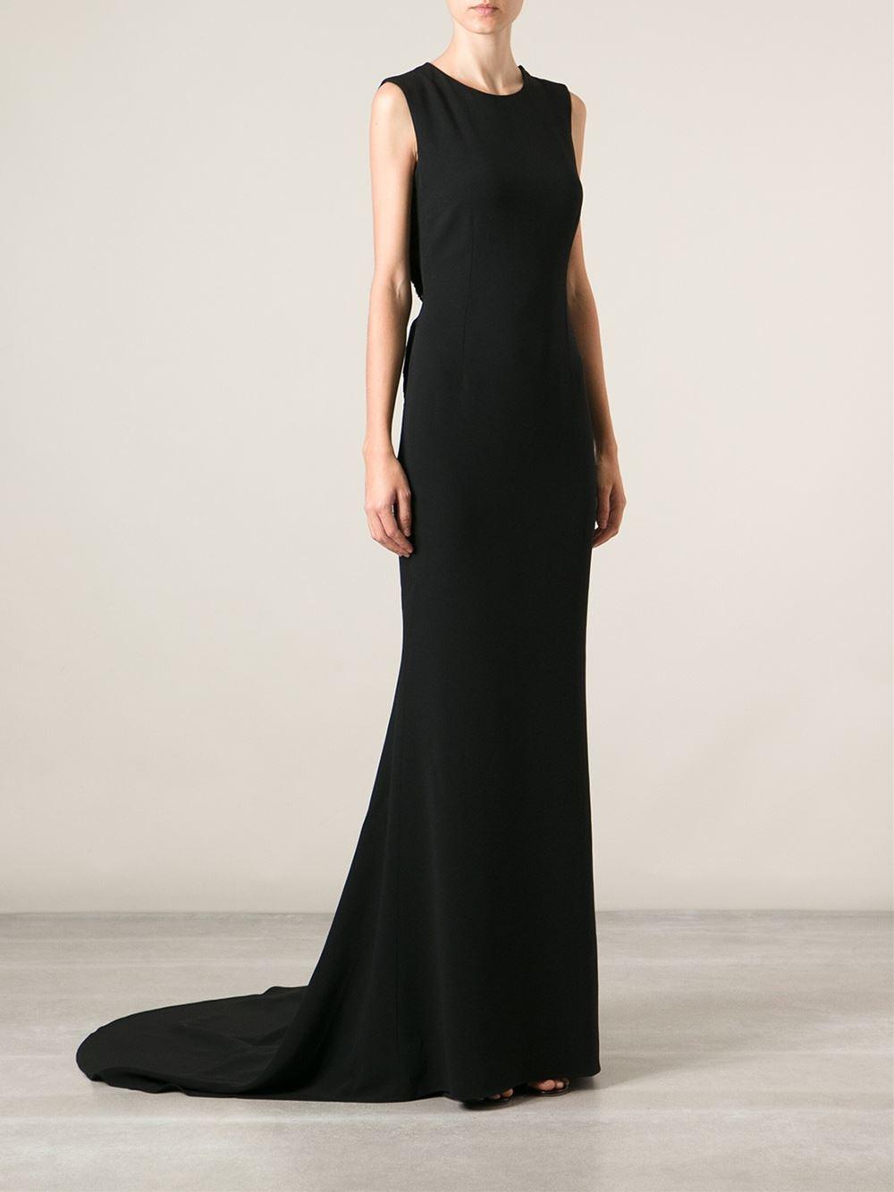 Lyst Stella Mccartney Evening Gown In Black