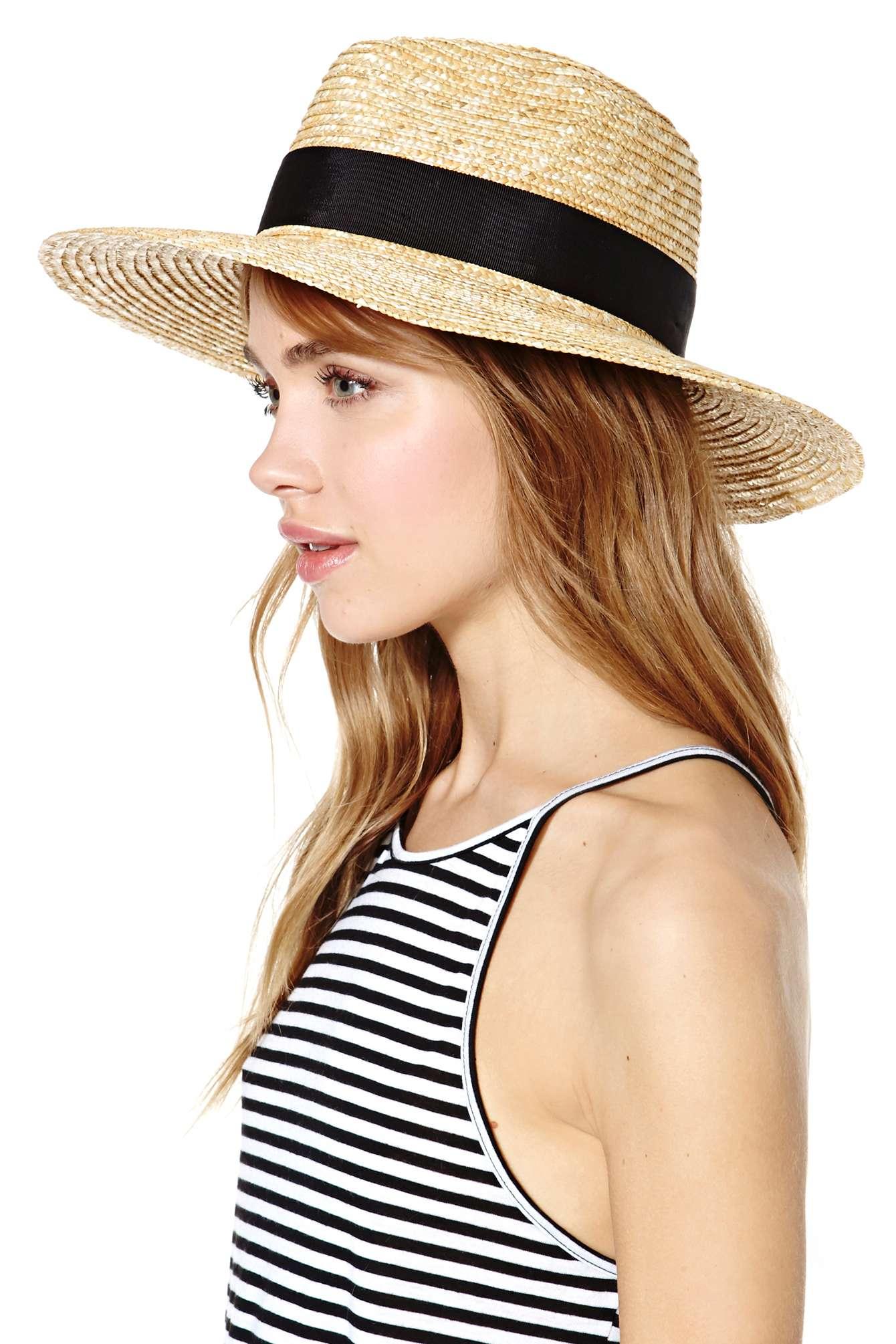 848f2c3ba33 ... store lyst nasty gal brixton joanna hat in black 3c0cf 3ef2b