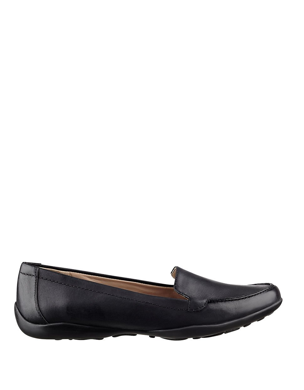 Lyst Easy Spirit Jeyden Leather Loafers In Black