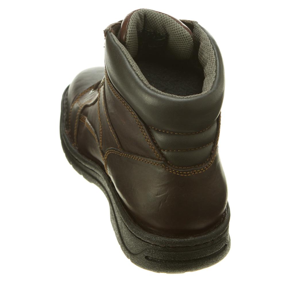 c4da477d4f1 Wolverine Brown Exert Durashocks® 6 Inch Slip Resistant Opanka Boot for men