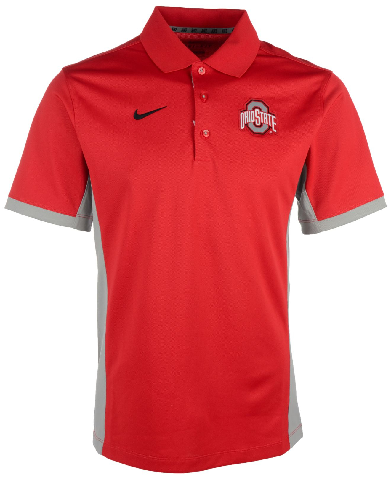 Lyst nike men 39 s ohio state buckeyes team issue polo in for Ohio state polo shirt 3xl