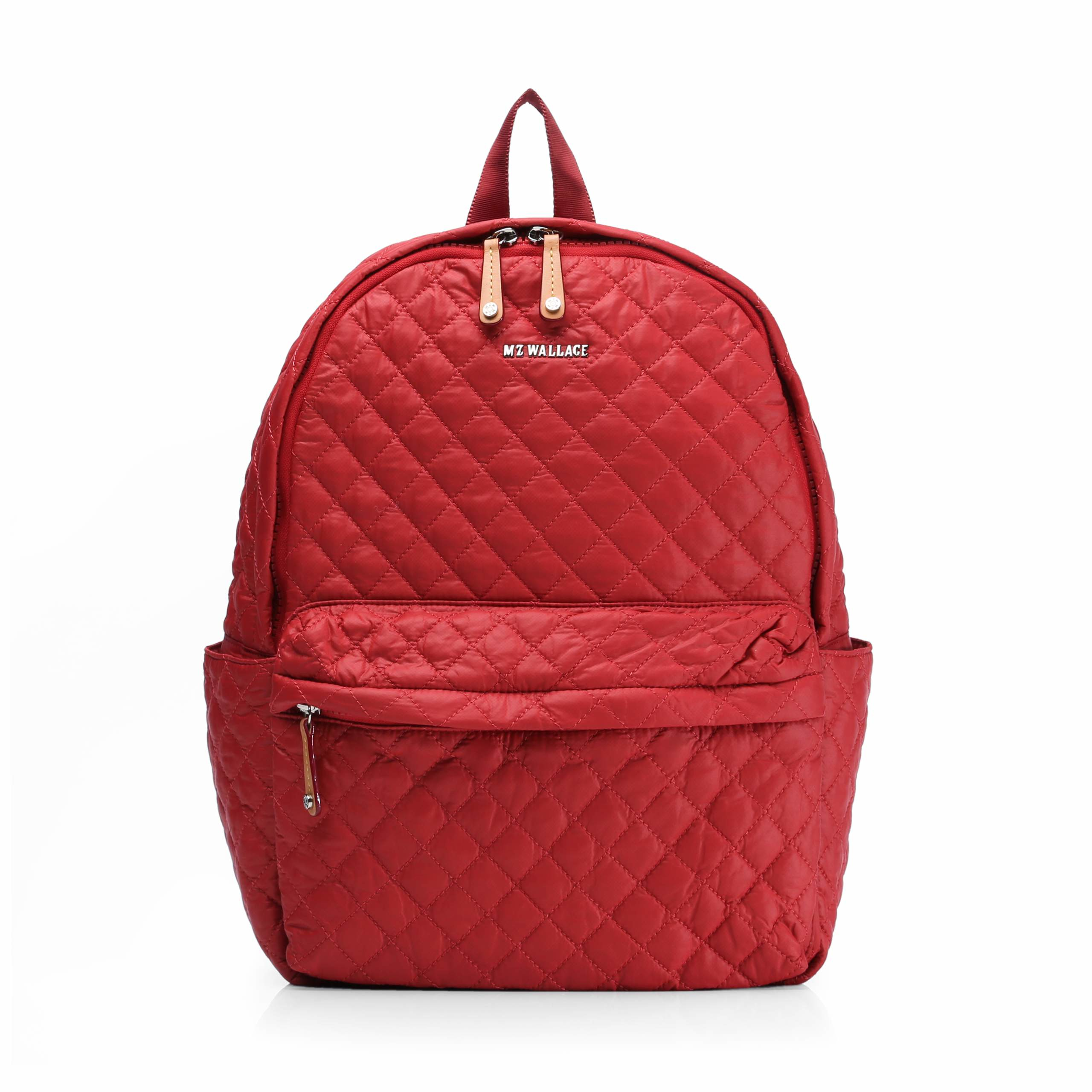31994ec8ce Lyst - MZ Wallace Poppy Oxford Metro Backpack in Red