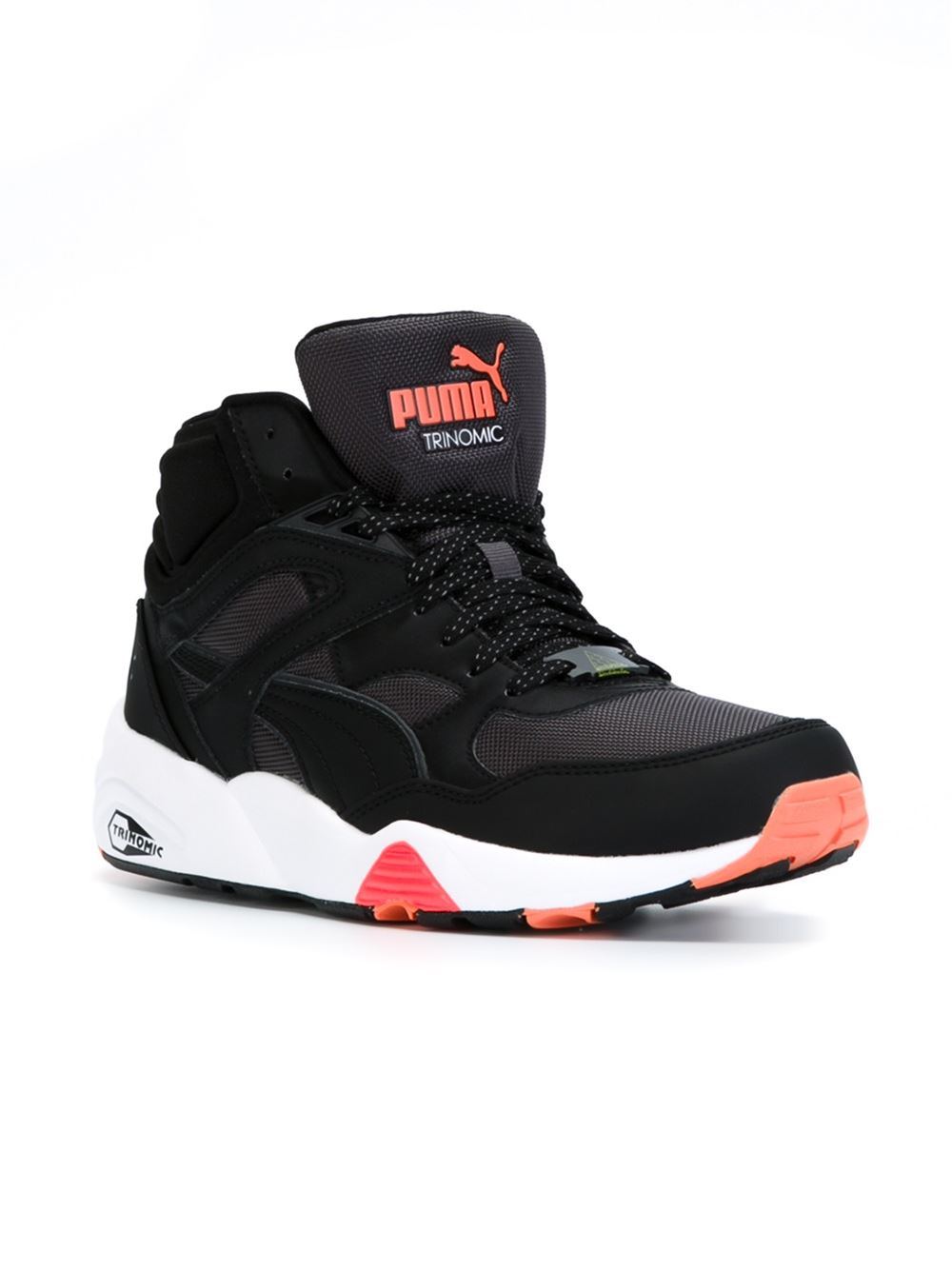 0ae20543b0a9 ... coupon for lyst puma trinomic hi top sneakers in black for men 335fd  03644