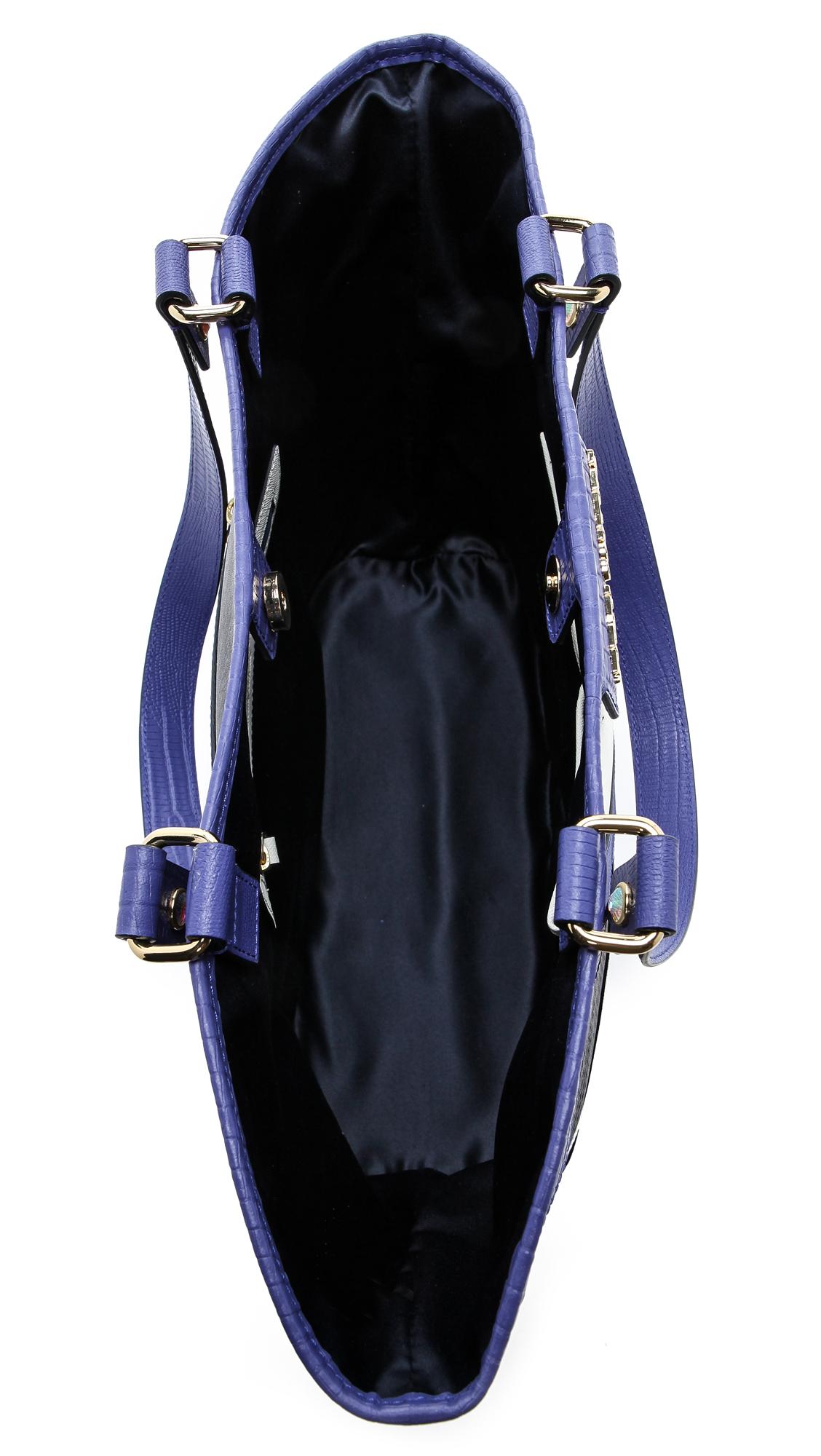 Juicy Couture Sierra Colorblock Tote in Blue