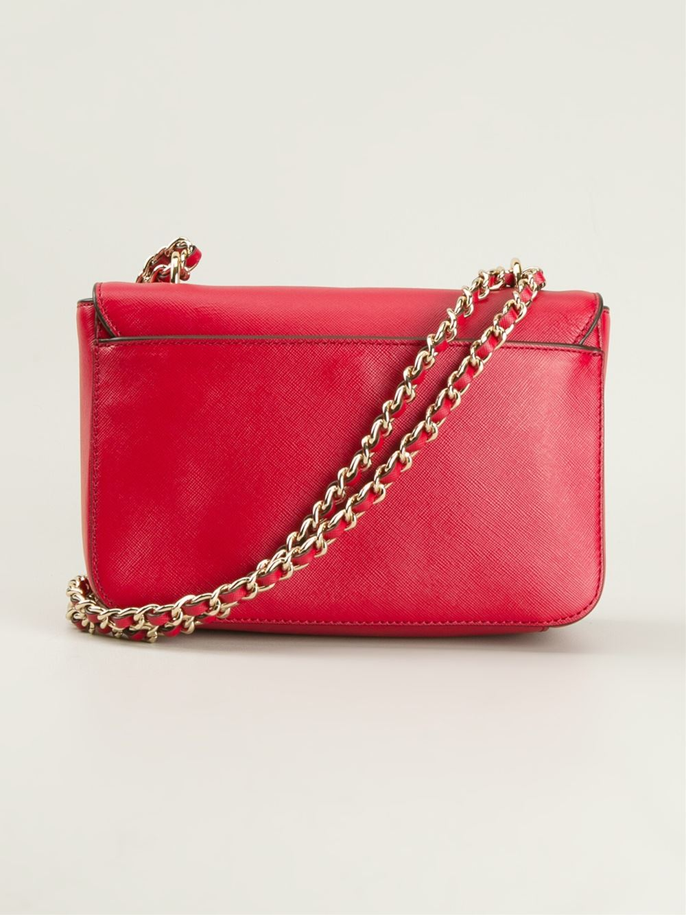 Tory Burch Robinson Shoulder Bag In Red Lyst