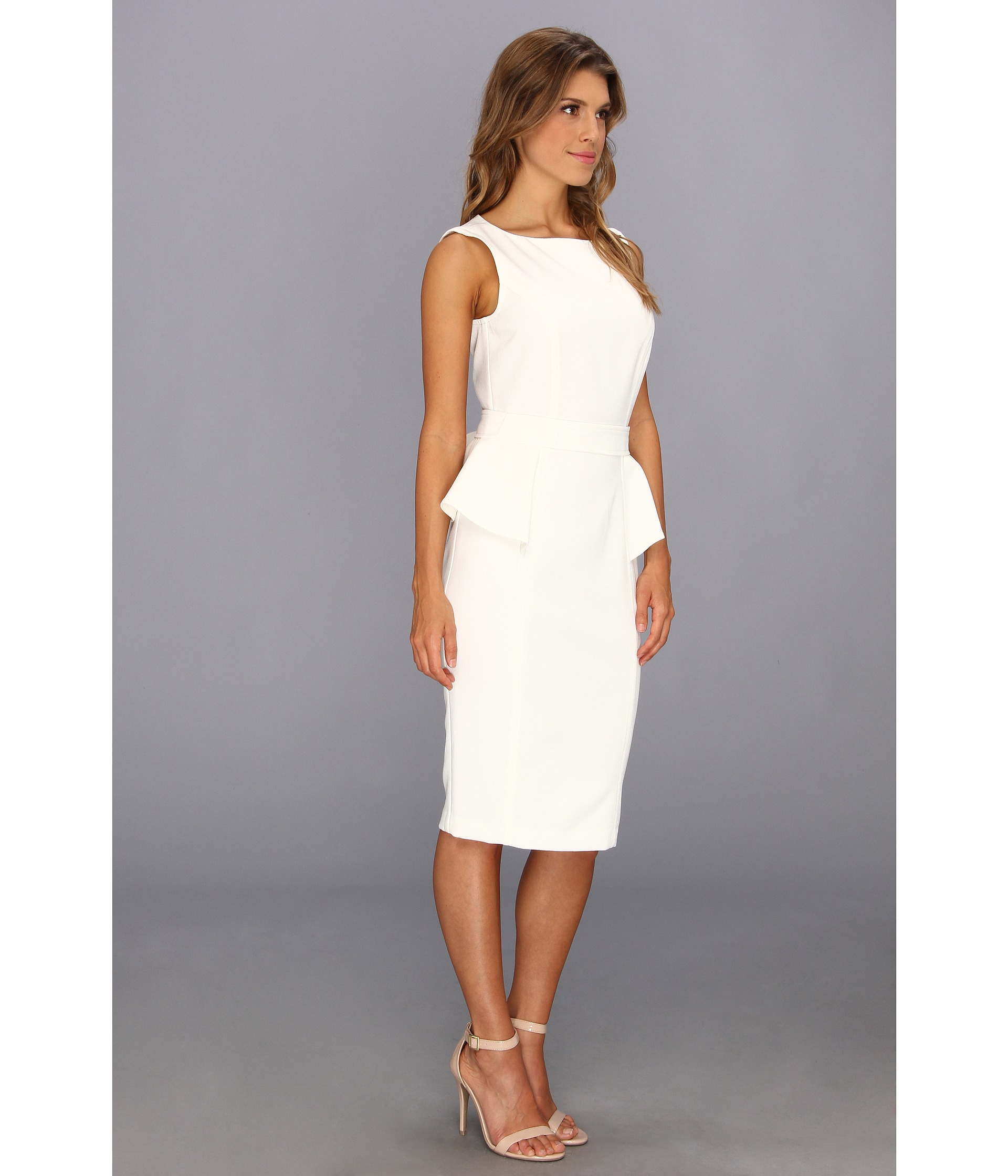 cbd1c06a271 Gallery. Previously sold at  Zappos · Women s White Cocktail Dresses  Women s Peplum Dresses