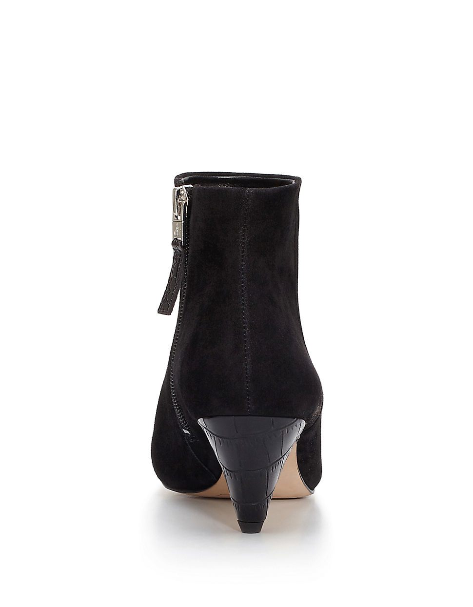 sam edelman suede ankle boots in black lyst