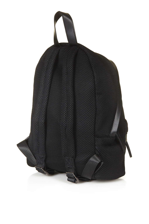 Topshop Mesh Zip Around Backpack In Black Lyst