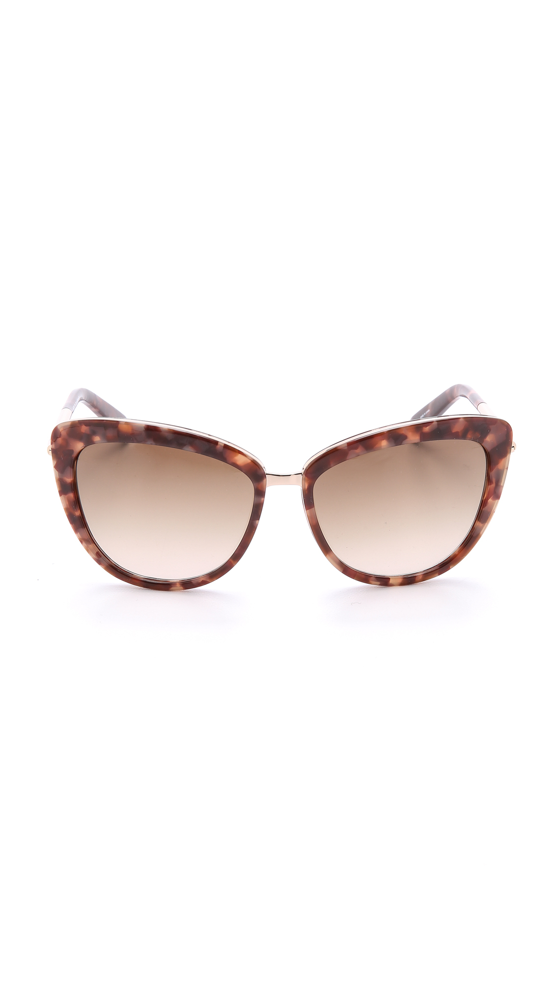 Kate Spade Kandi Sunglasses in Pink