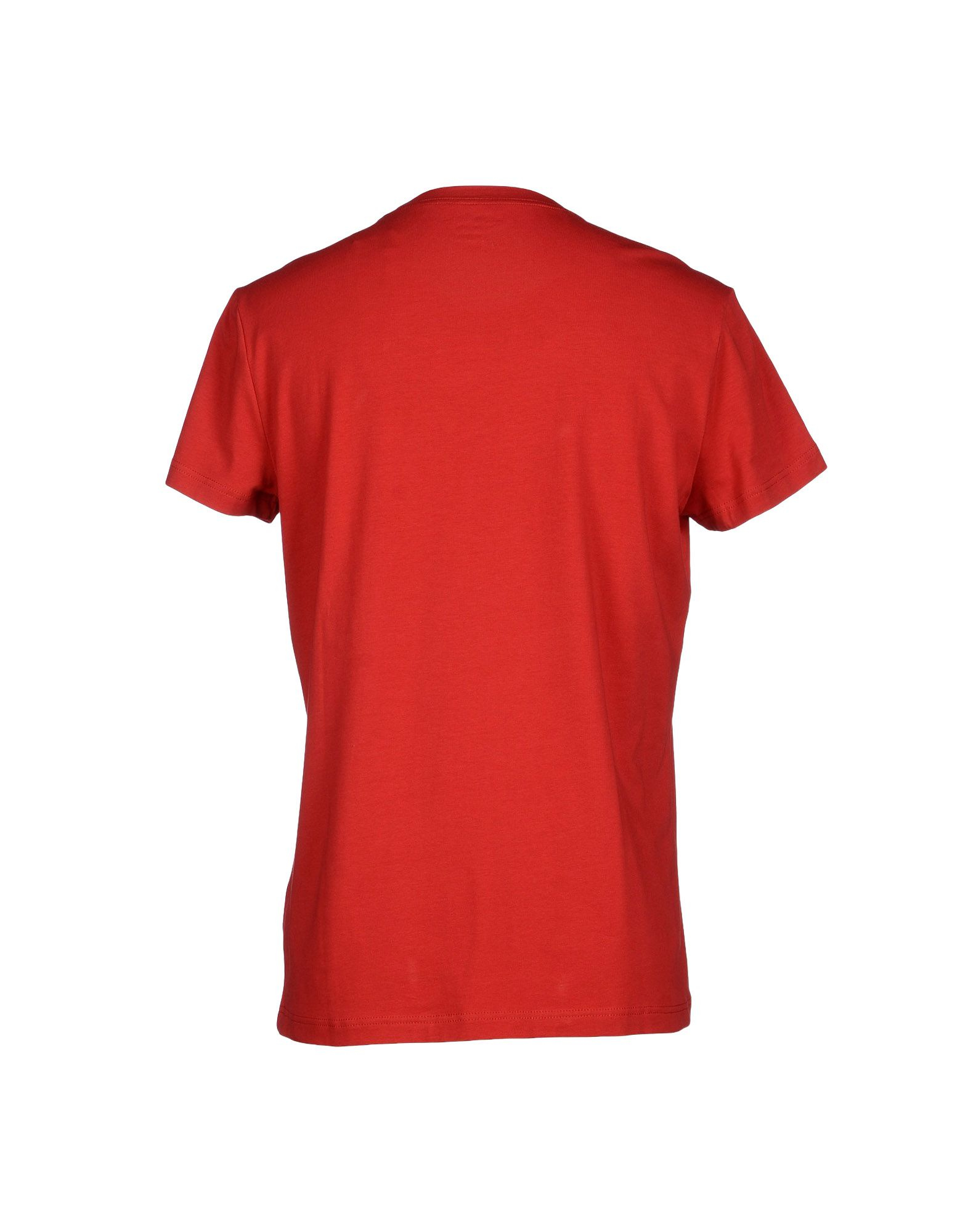 calvin klein jeans t shirt in red for men lyst. Black Bedroom Furniture Sets. Home Design Ideas
