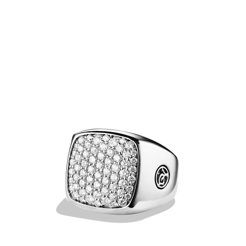 David Yurman Diamond Ring Pave