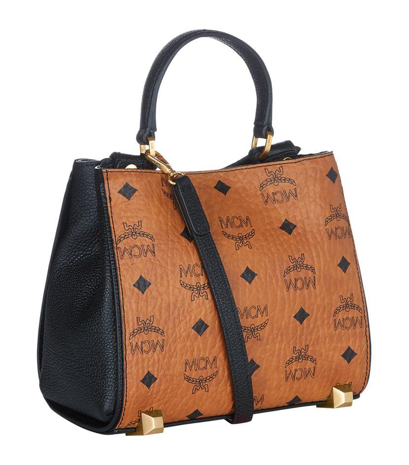 MCM Mini Corina Cross Body Bag in Brown