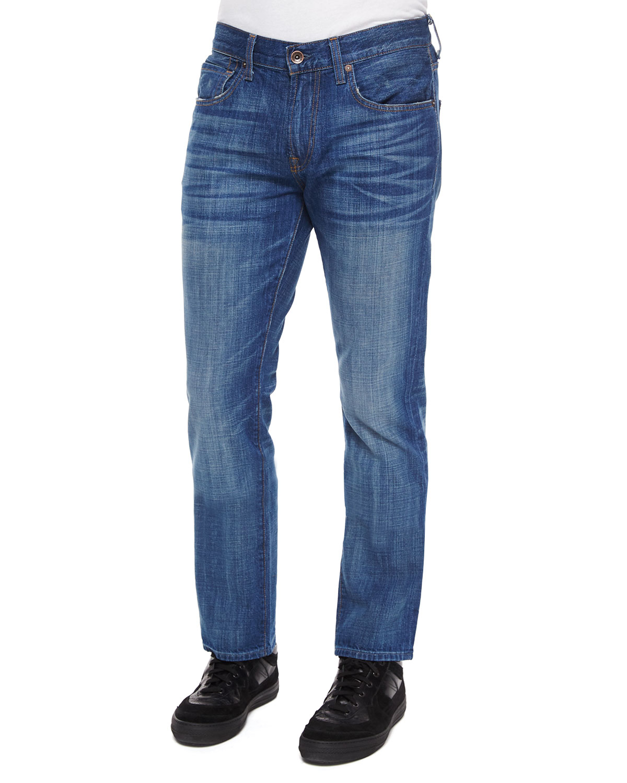 Citizens Of Humanity Core Slim-Straight Atticus Denim Jeans in Blue for Men (denim) | Lyst