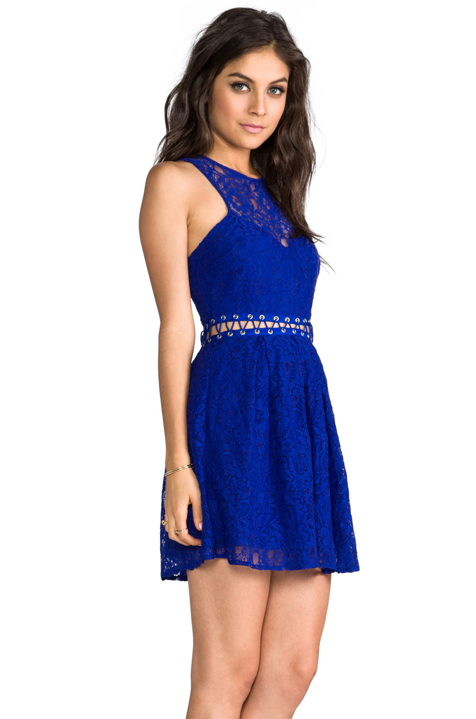 Stylestalker Bloc Party Dress in Blue in Blue | Lyst
