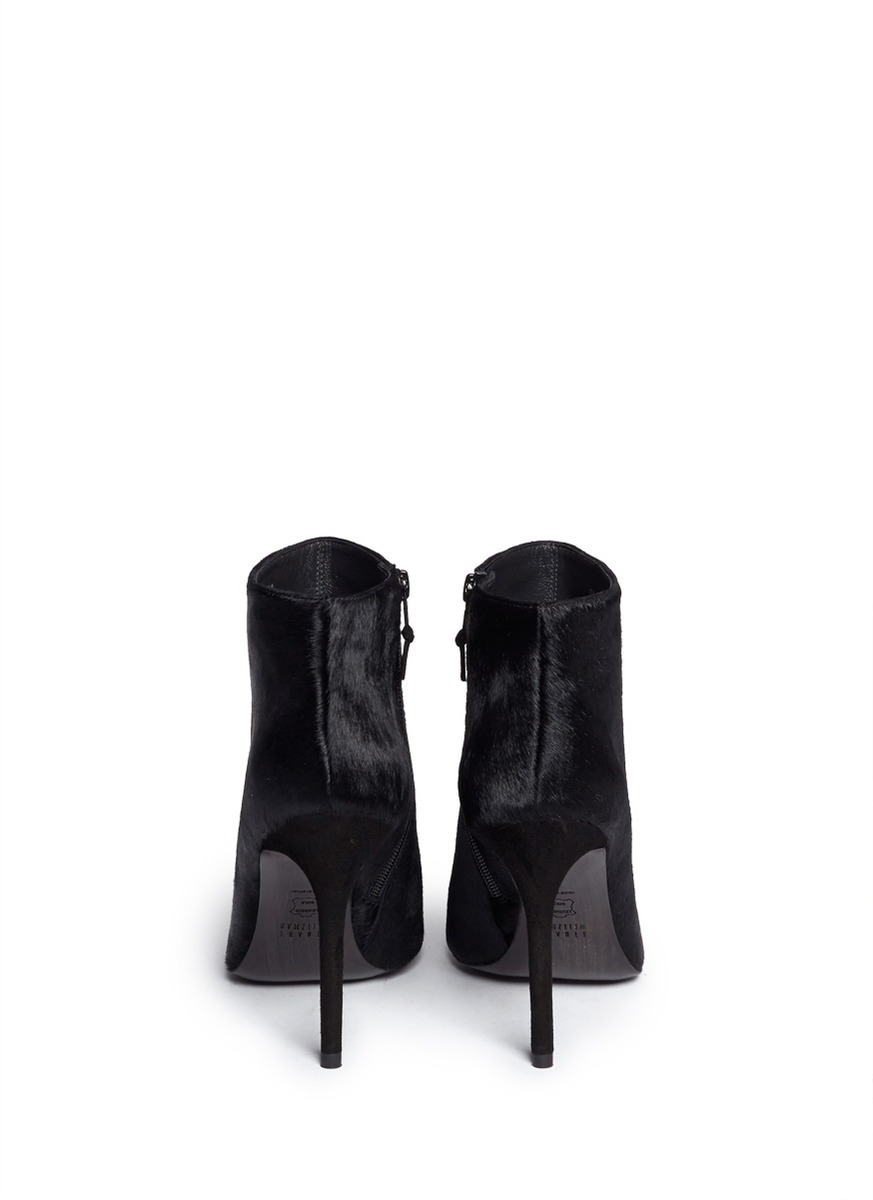 Stuart Weitzman Hi Times Ponyhair Ankle Boots w/ Tags latest collections cheap price y7C9GIP