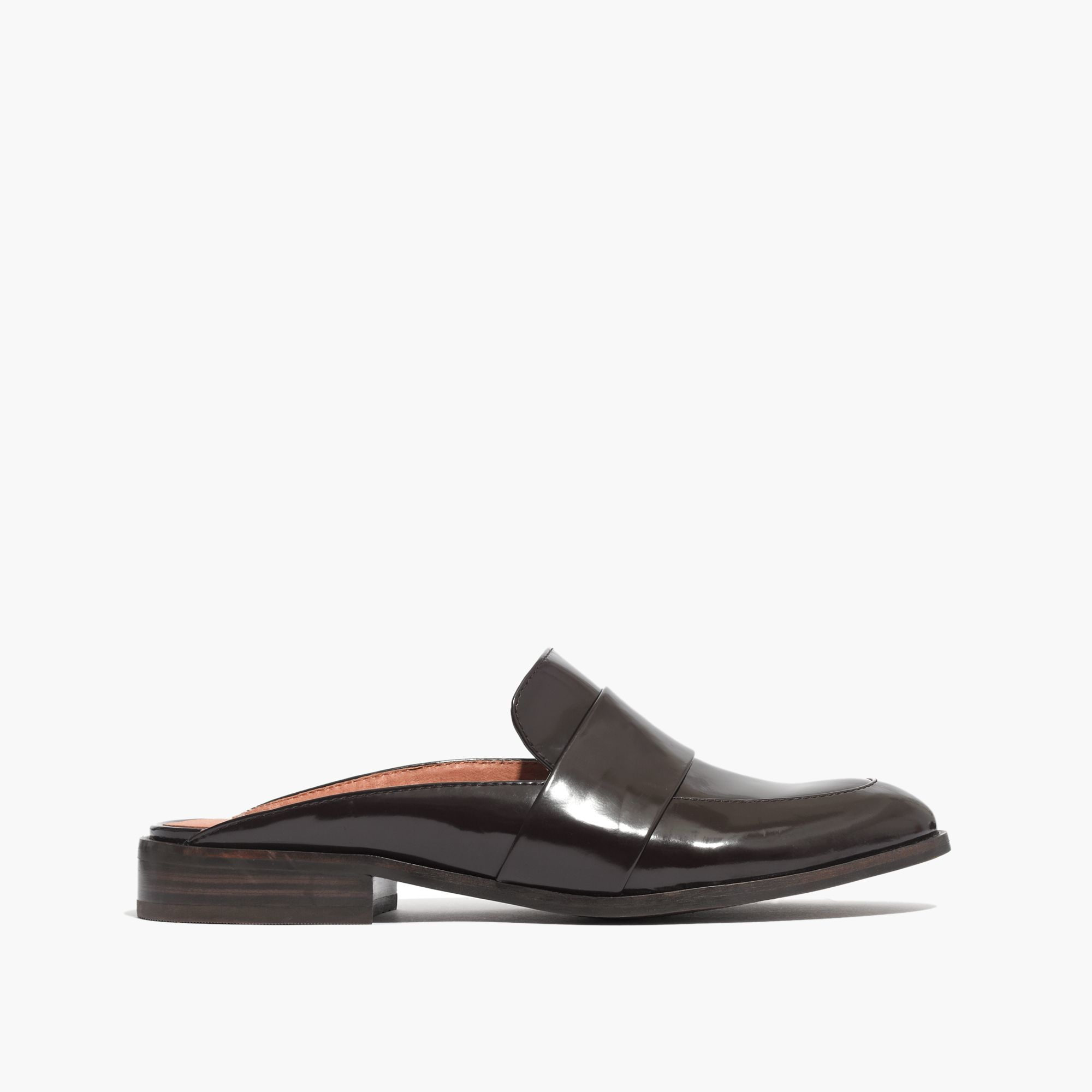 Lyst Madewell The Elin Backless Loafer In Brown