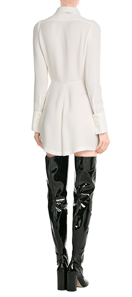 Marc jacobs Patent Leather Thigh-high Boots - Black in Black | Lyst