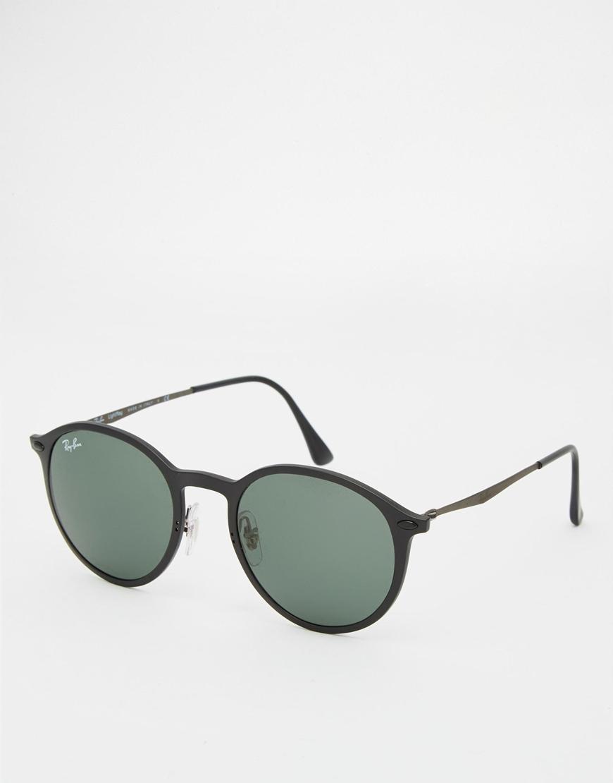 70158adf9c Black Round Sunglasses Ray Ban
