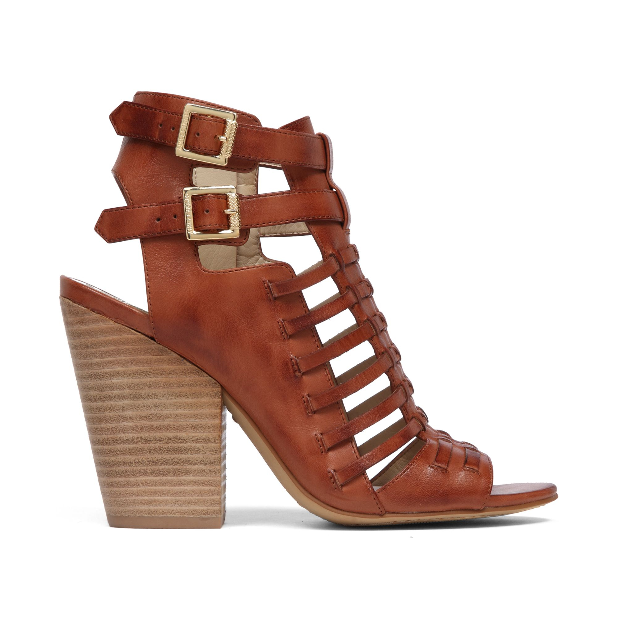 Vince Camuto Medow Gladiator Sandals In Brick Brown Lyst