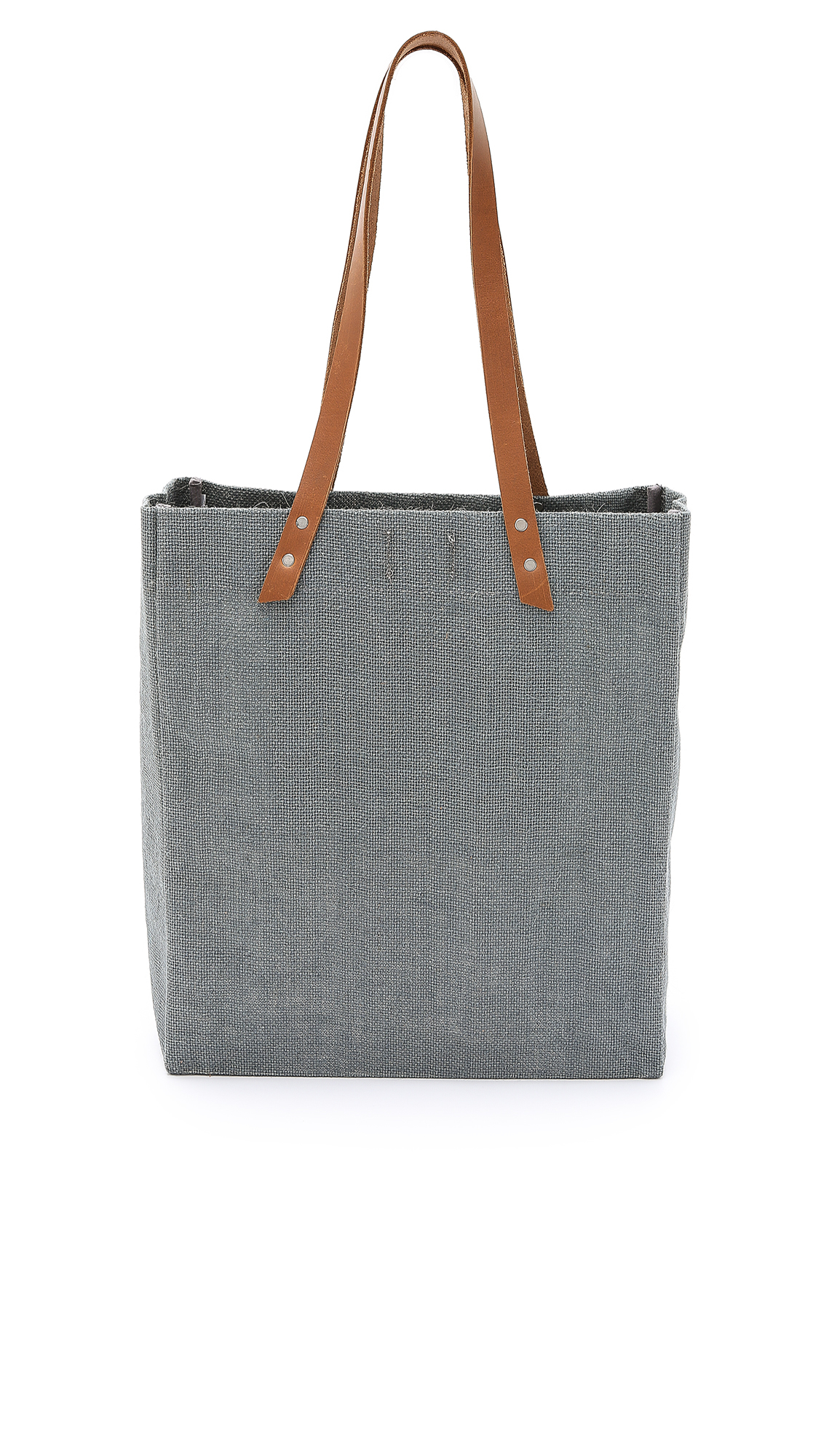Apolis Standard Tote in Charcoal (Grey) for Men