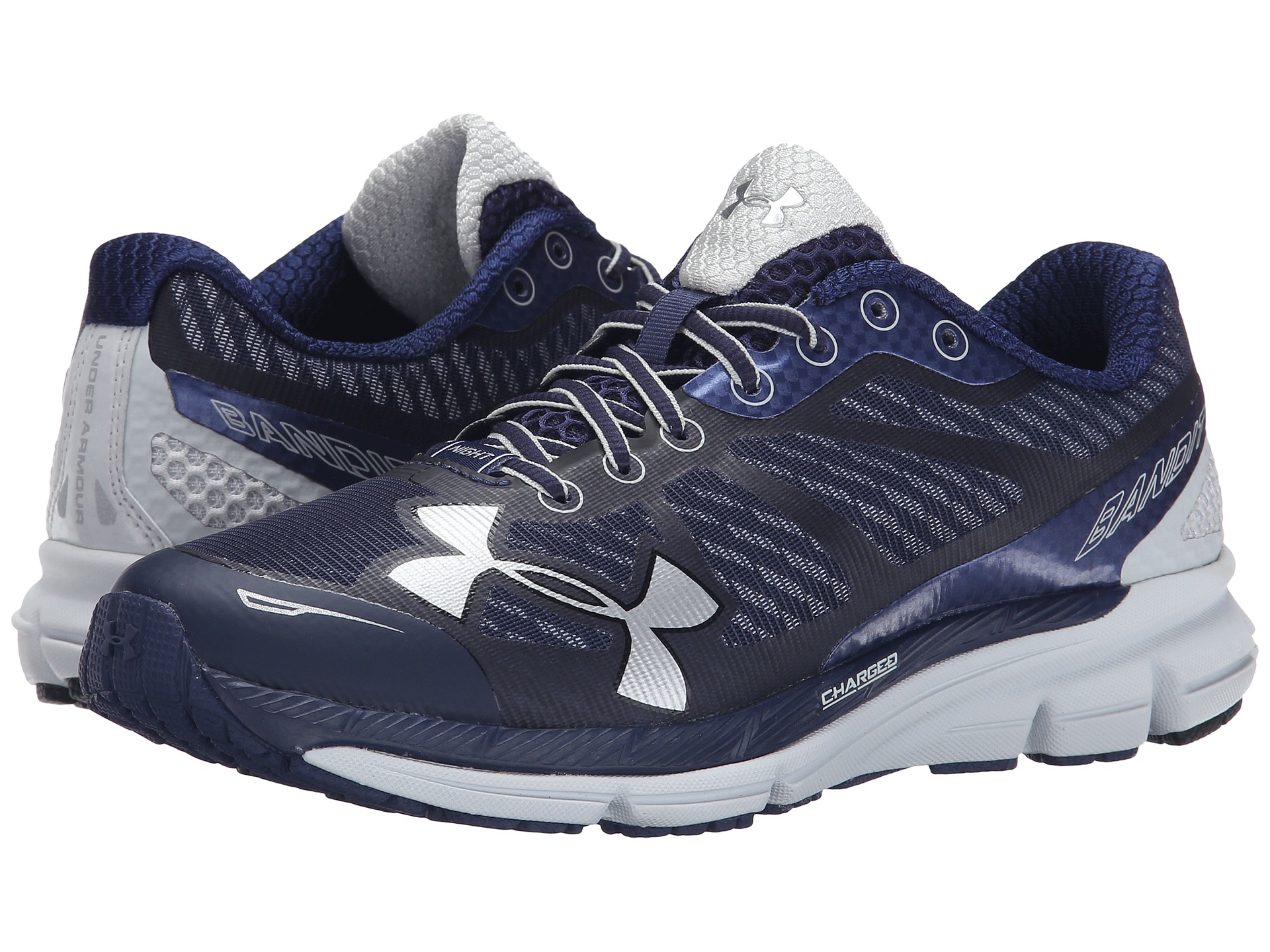 new products 44ad7 1bbf2 Women's Blue Ua Charged Bandit Night