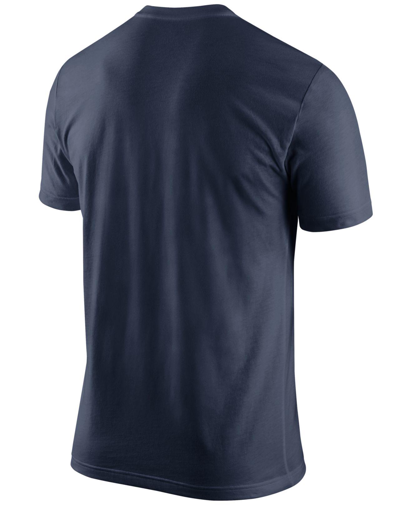 Nike men 39 s new england patriots team spirit t shirt in for New england patriots mens shirts