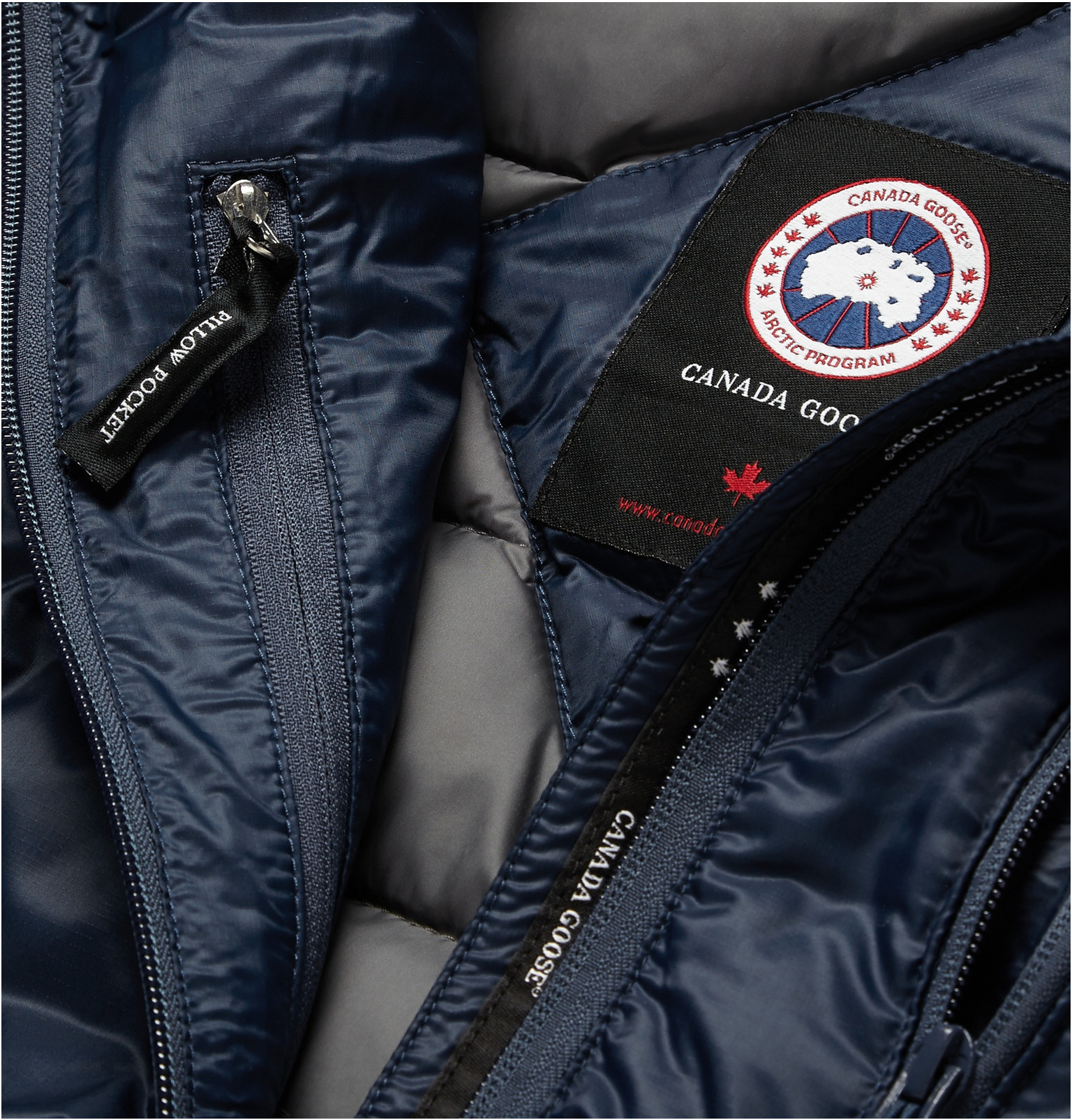 Canada Goose kensington parka sale official - Canada goose Lodge Packaway Down-filled Quilted Gilet in Blue for ...