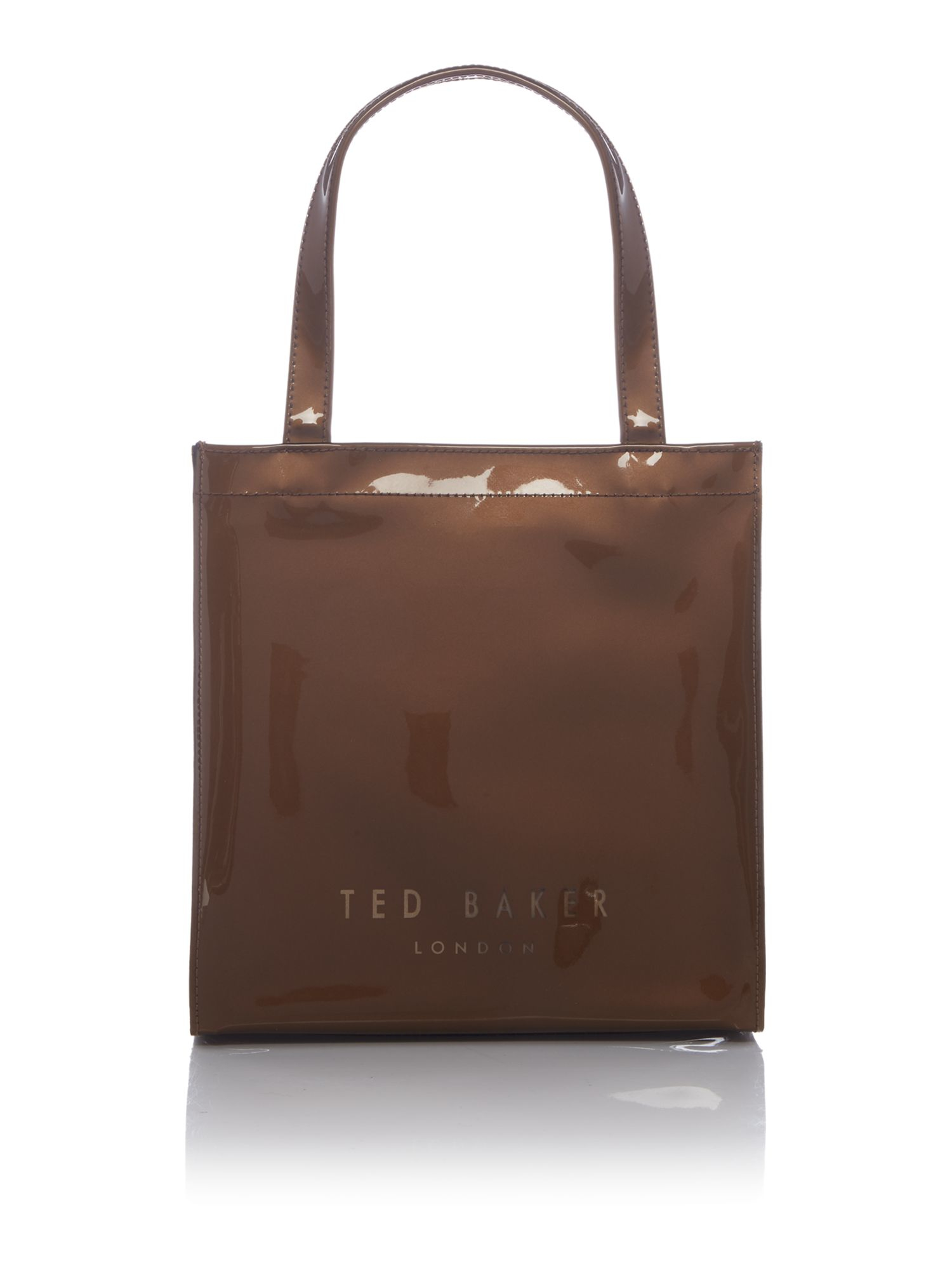 Ted Baker Sparkon Bowcon Gold Small Tote Bag in Metallic