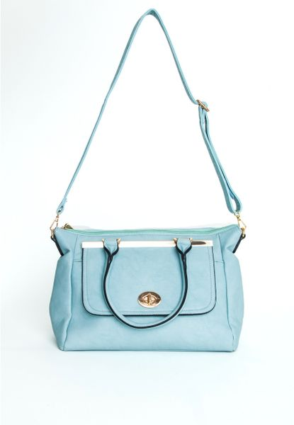 Blue Over The Shoulder Bag 64