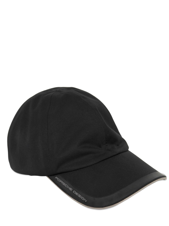 6c83202a52a Lyst - Porsche Design Waterproof Baseball Hat in Black for Men