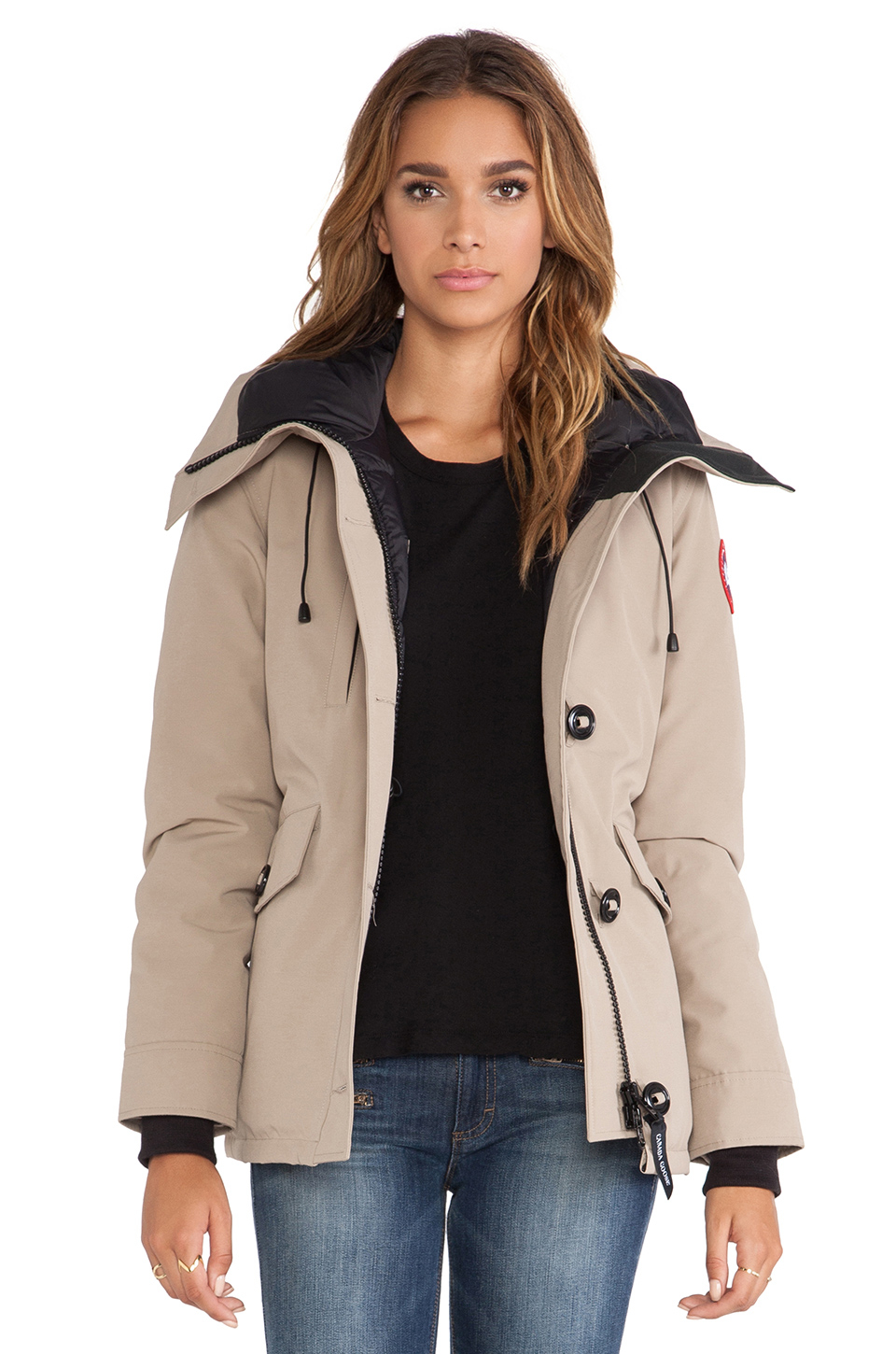 Lyst - Canada Goose Rideau Parka in Brown 84aed8202d99