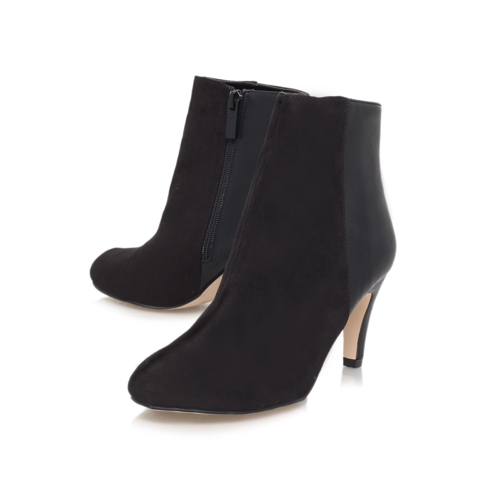 miss kg mid heeled boots in black lyst