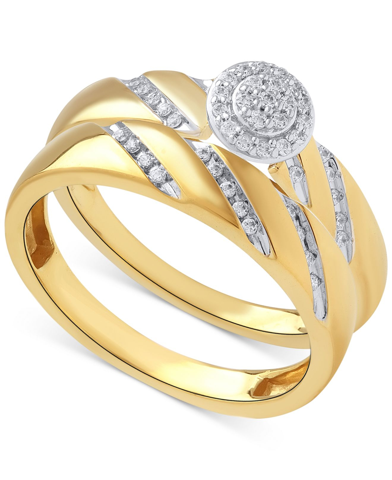 Halo Engagement Rings Macys