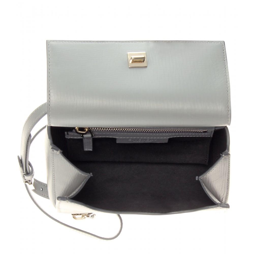 c55357f806 cheap givenchy bags - Givenchy Pandora Box Mini Shoulder Bag in Gray