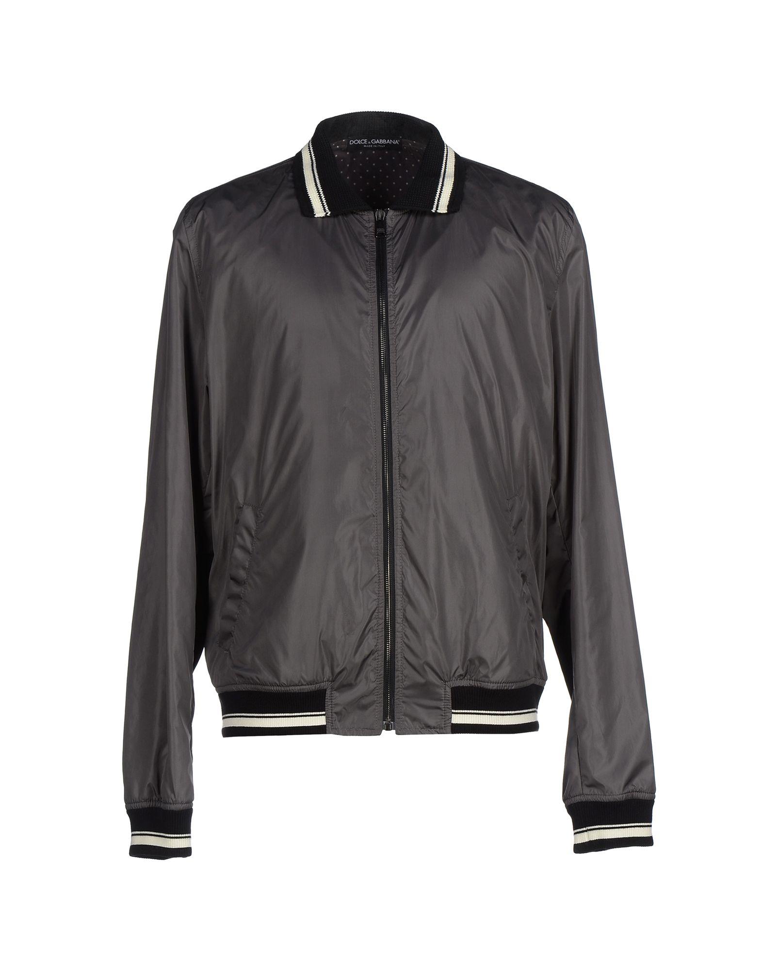 dolce gabbana jacket in gray for men lead lyst. Black Bedroom Furniture Sets. Home Design Ideas