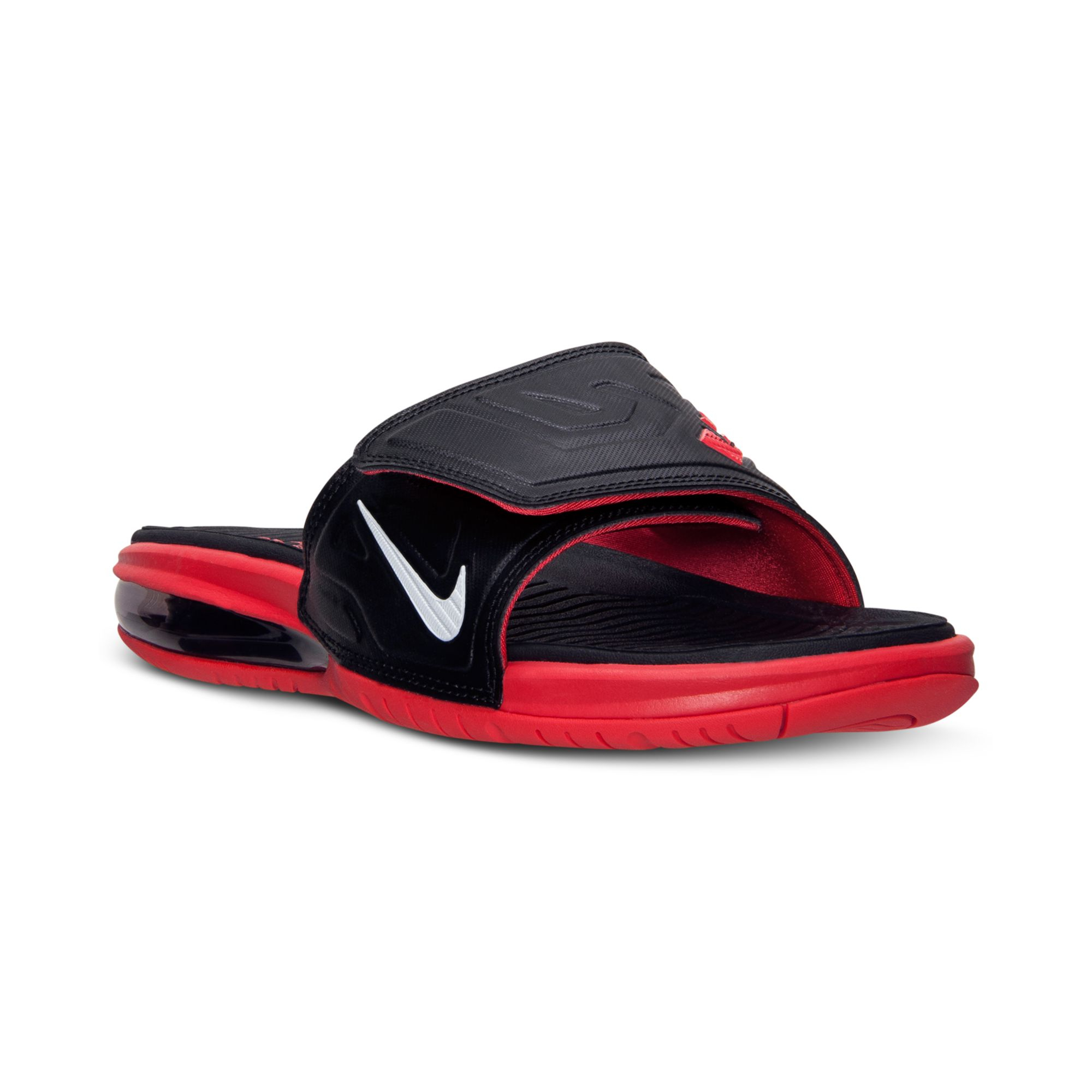0fc40a457118 Lyst - Nike Mens Air Lebron 3 Elite Slide Sandals From Finish Line ...