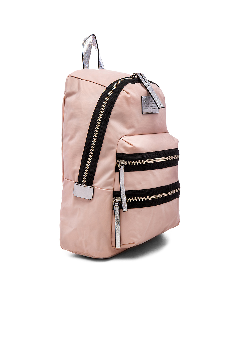 lyst marc by marc jacobs domo arigato packrat backpack in pink. Black Bedroom Furniture Sets. Home Design Ideas
