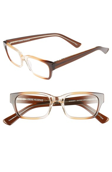 corinne mccormack sydney 51mm reading glasses in brown