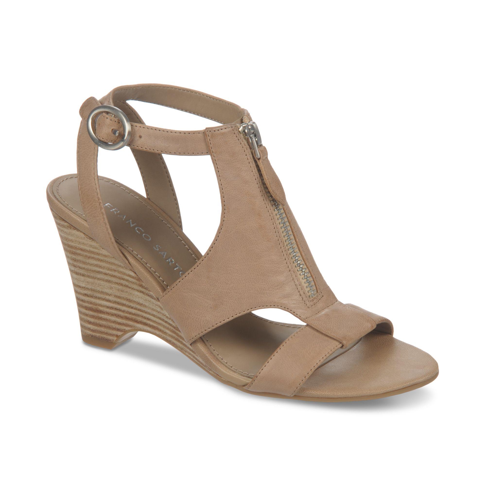 franco sarto tish wedge sandals in lyst