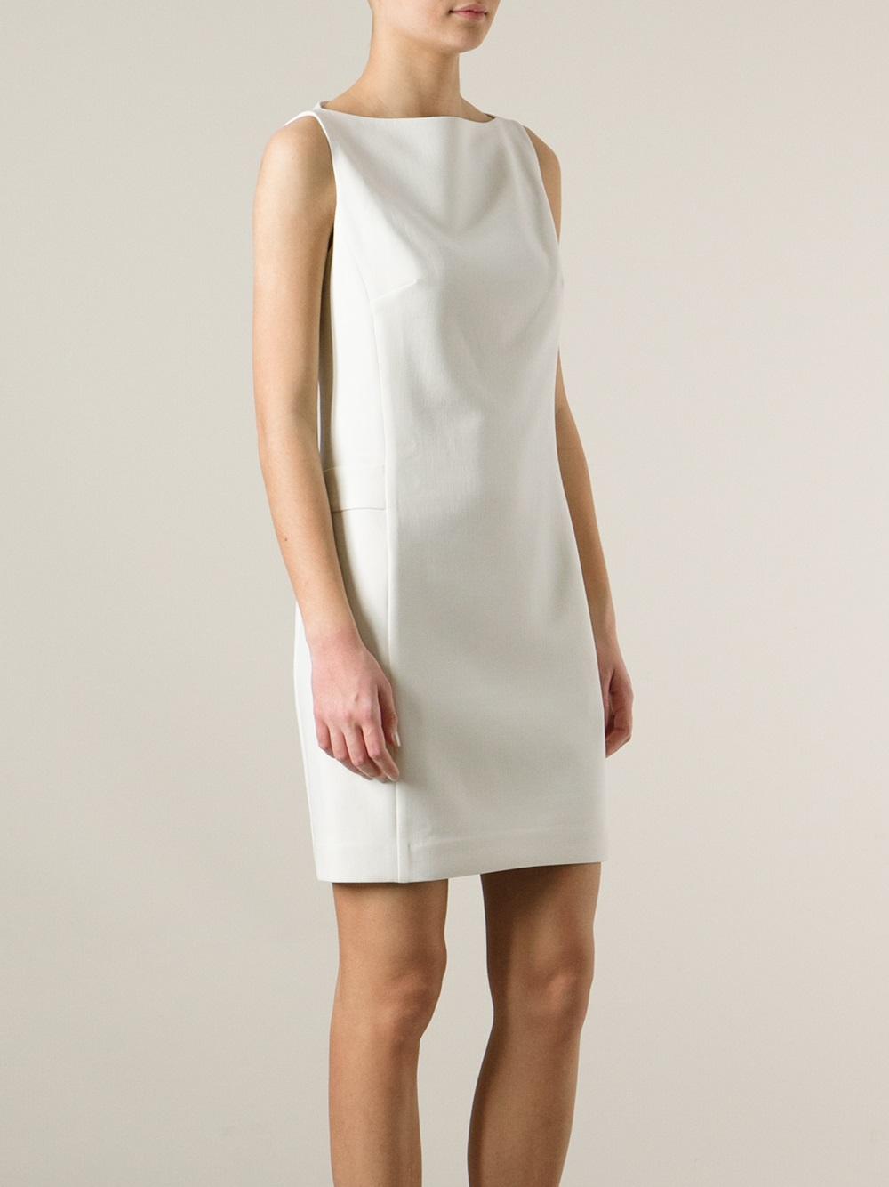 Lyst Ralph Lauren Black Label Sleeveless Shift Dress In