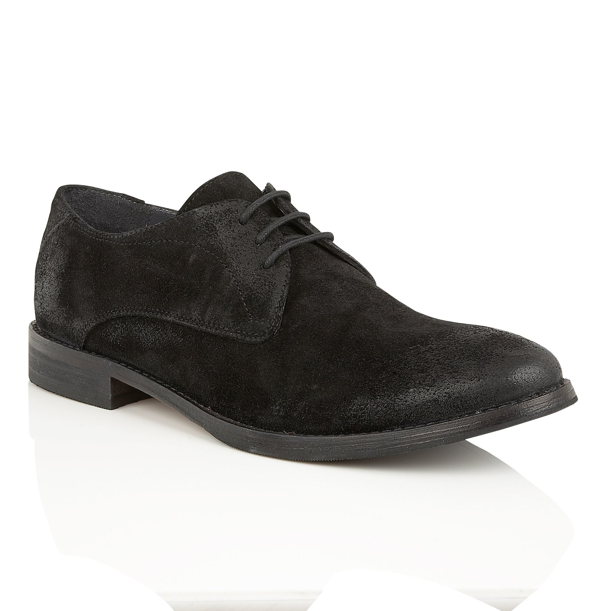 how to clean up black suede shoes