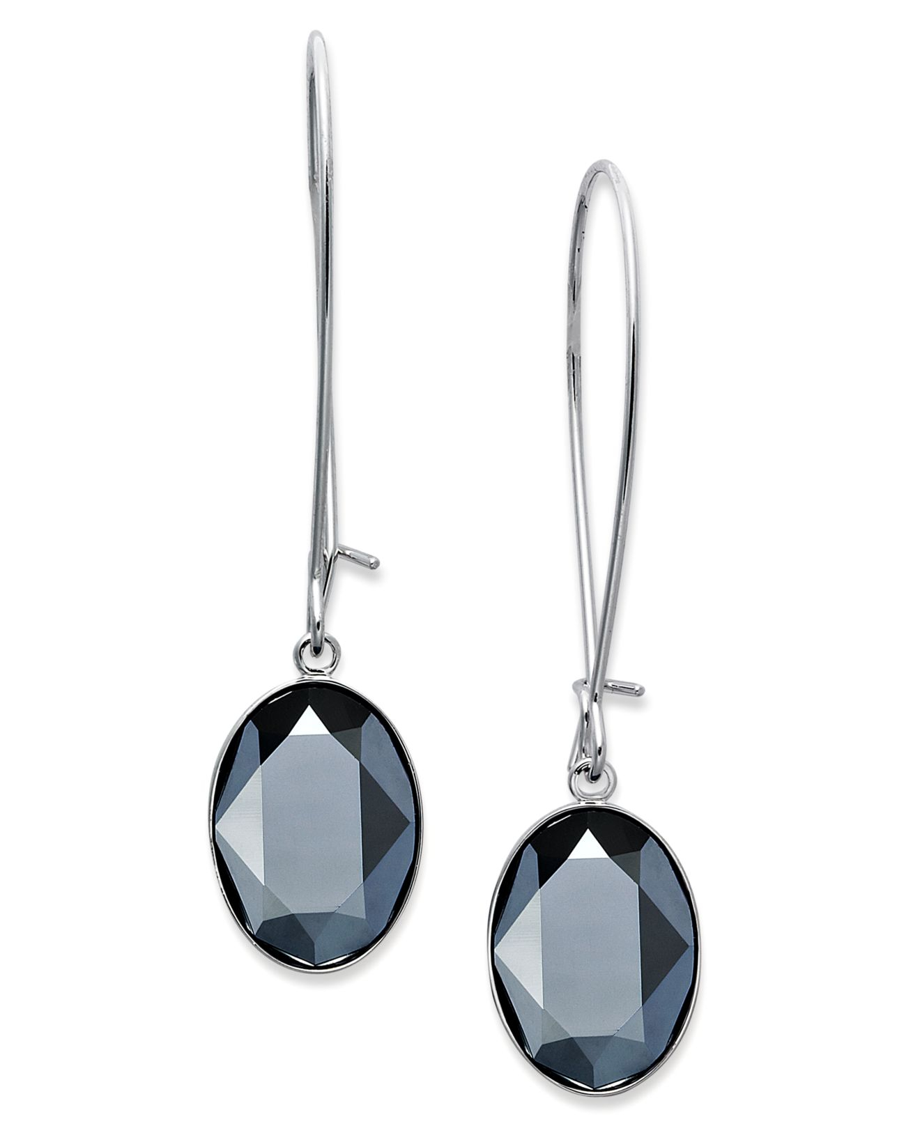 with teardrop in diamonds silver lollipop diamond earrings hematite sterling
