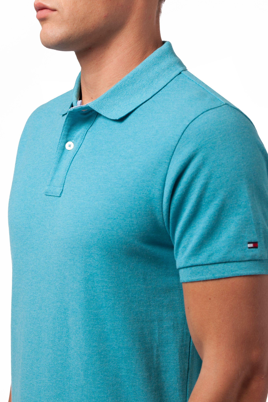 Tommy Hilfiger Classic Heather Plain Slim Fit Polo Shirt