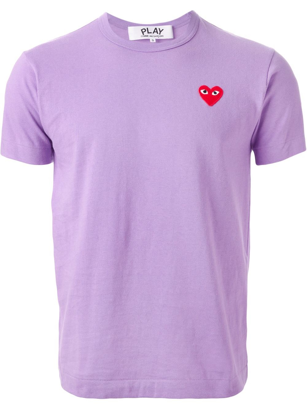 Play comme des gar ons 39 play colour series 39 t shirt in for Commes des garcons play shirt