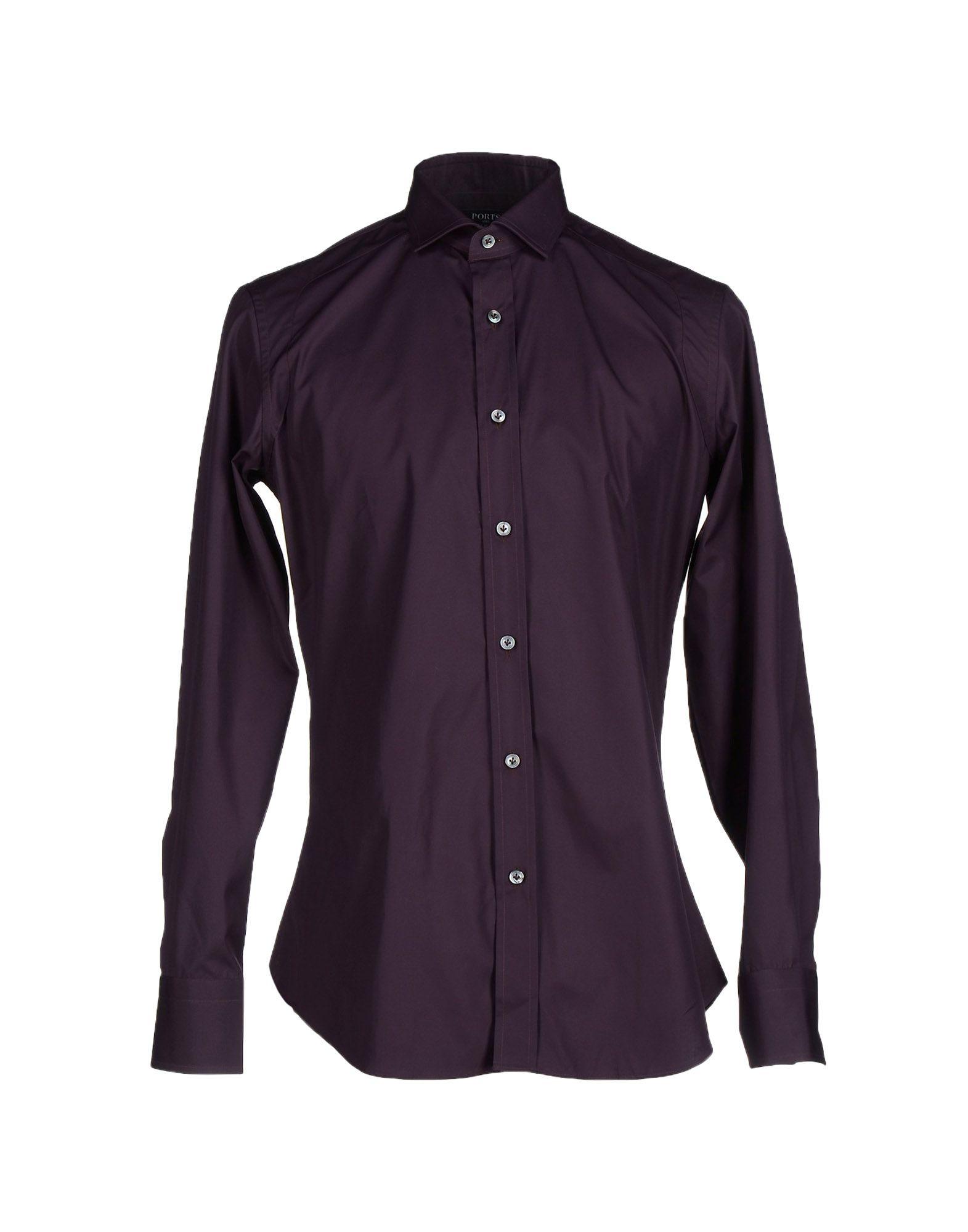 Ports 1961 Shirt in Purple for Men (Dark purple) - Save 50 ...