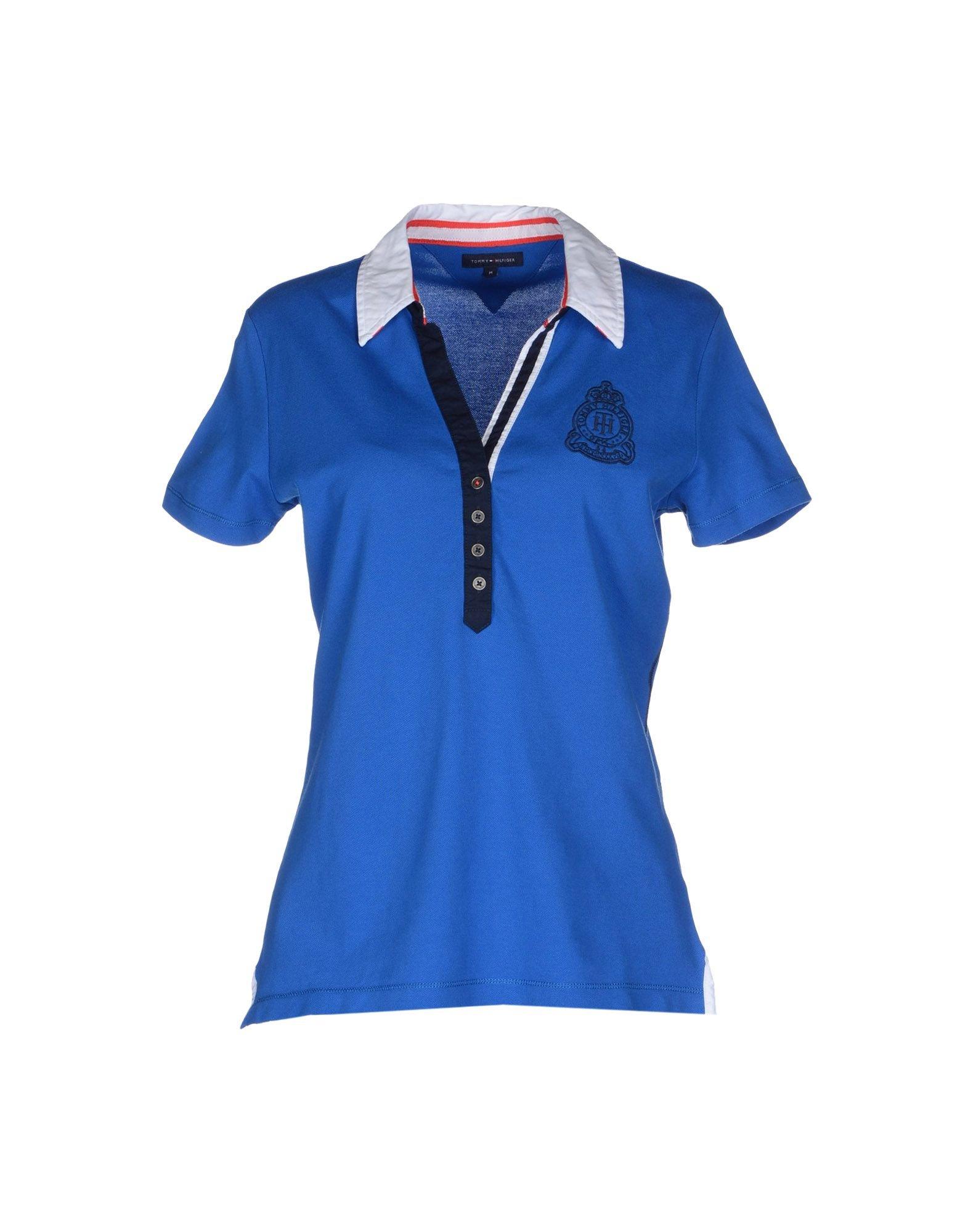 tommy hilfiger polo shirt in blue lyst. Black Bedroom Furniture Sets. Home Design Ideas