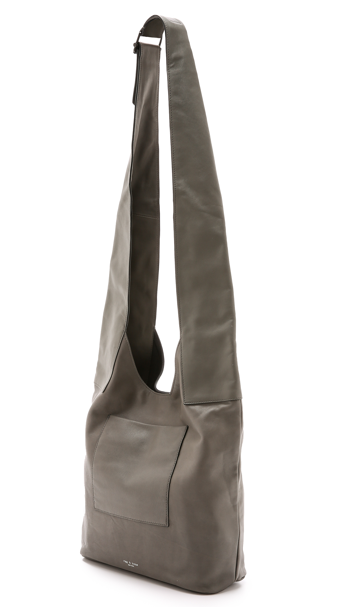 Rag & Bone Goa Cross Body Bag - Smoke in Grey