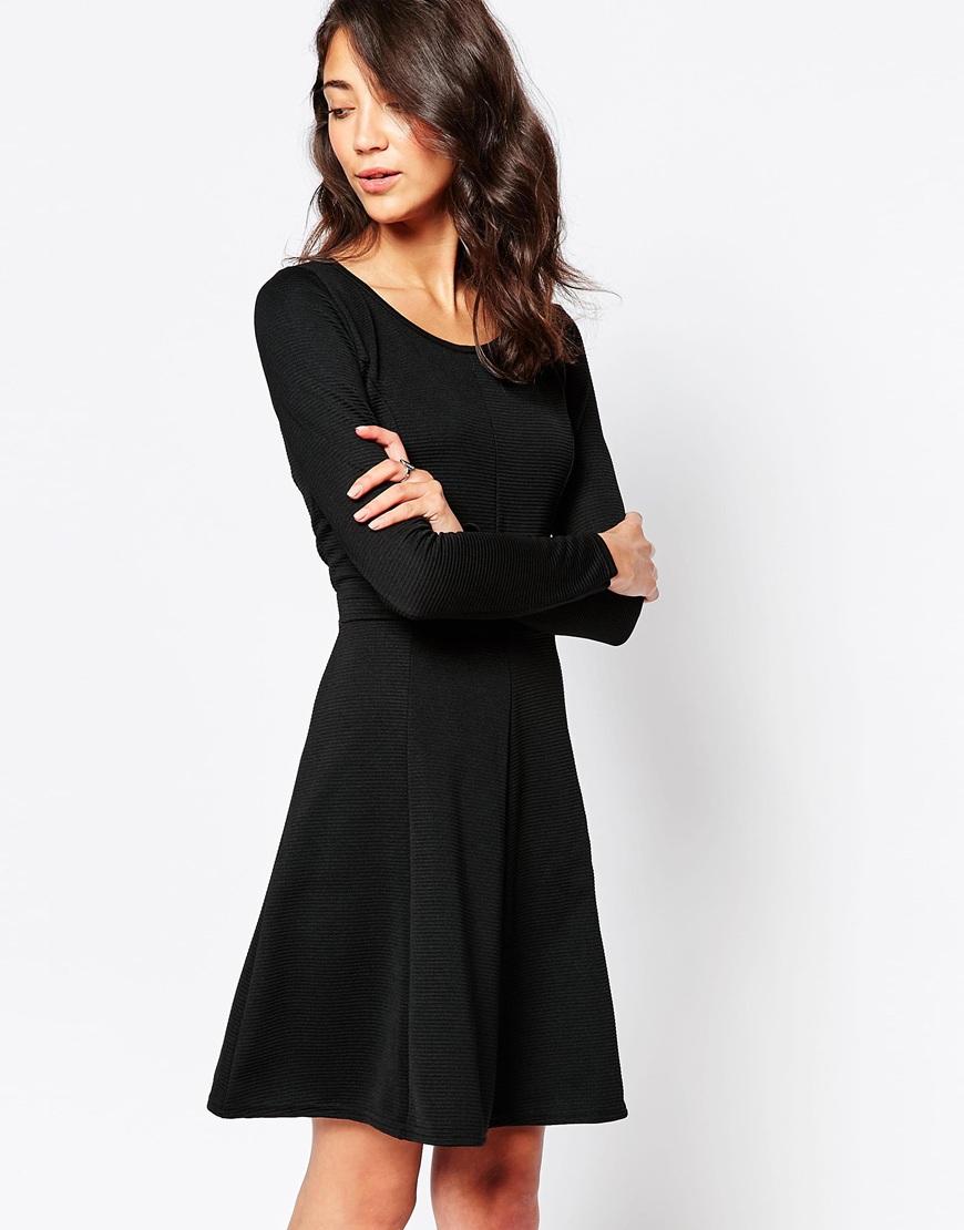 Vero moda lace sleeve swing dress